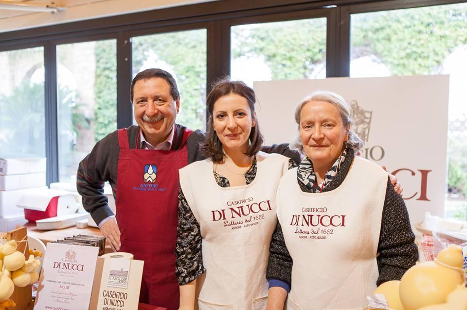 Terra madre | salone del gusto a Torino 2016 | da sinistra, Franco, Serena, Rosetta