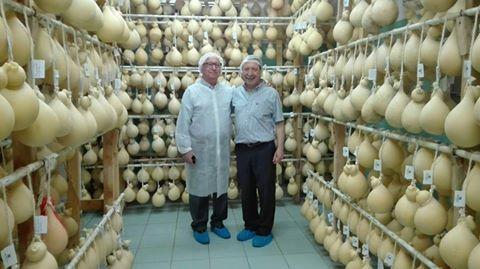 Visite in Caseificio Di Nucci | Franco Di Nucci col direttore di PleinAir Raffaele Iannucci