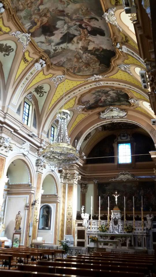 'ndocciata di Agnone |Chiesa di S. Antonio Abate di Agnone