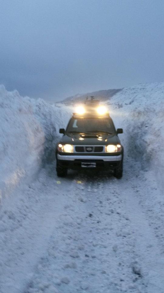 Emergenza neve | La raccolta del latte non si ferma | Le strade di Agnone | Caseificio Di Nucci