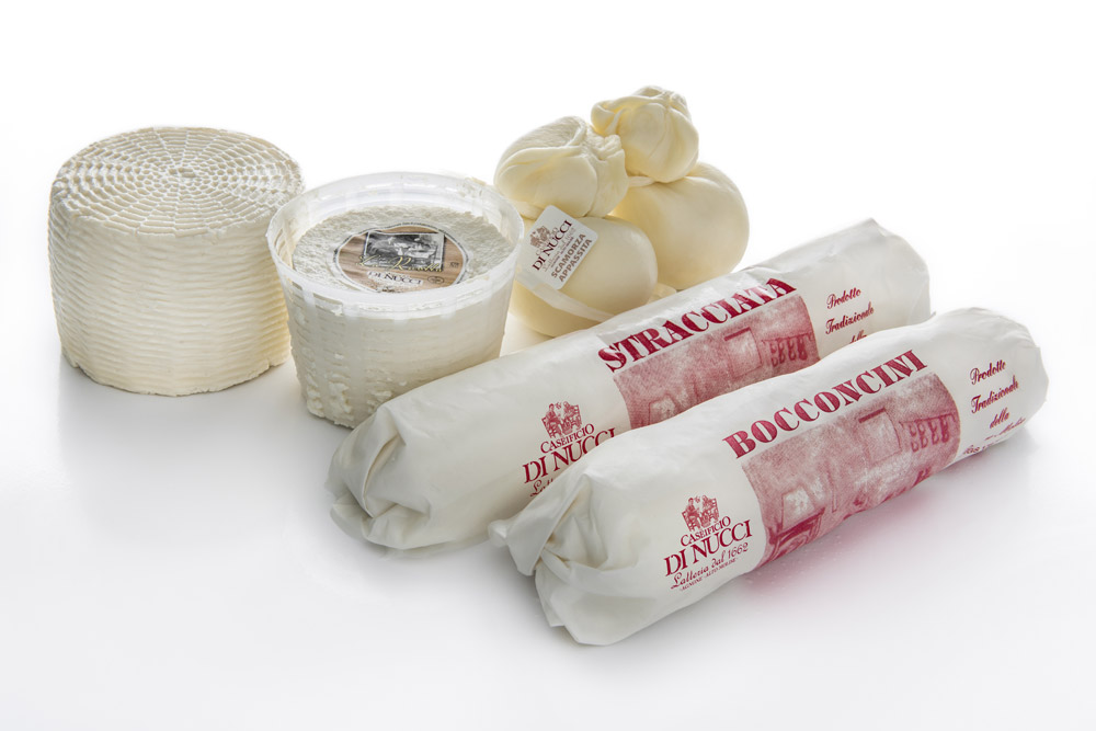 Fresh Cheeses of Caseificio Di Nucci