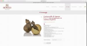 Nuovo sito web del Caseificio Di Nucci | La vetrina on line