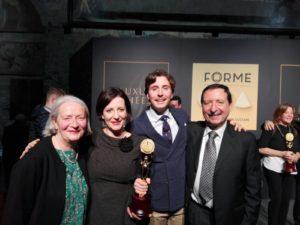 Stracciata molisana | Da sinistra Rosetta, Serena, Francesco Glauco e Franco | Caseificio Di Nucci