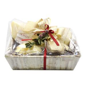 cesto regalo, formaggi di nucci, caciocavallo, Caciocavallo di Agnone Semistagionato, scamorze, scamorze di pasta di caciocavallo, manteca, Ricotta salata