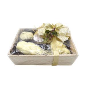 cesto regalo, formaggi di nucci, caciocavallo, Caciocavallo di Agnone Semistagionato, scamorze, scamorze di pasta di caciocavallo, Treccia, Ricotta salata