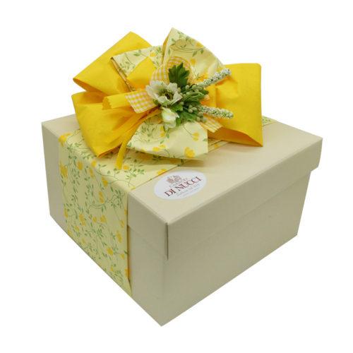 basket gift, scatola regalo, formaggi Di Nucci, caciocavallo semistagionato, caciocavallo di agnone, manteca, treccia,