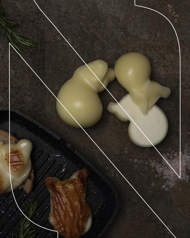scamorza di pasta di caciocavallo